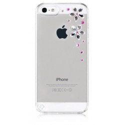 Калъф Bling My Thing iPhone SE (5S) - Flower Pink Mix