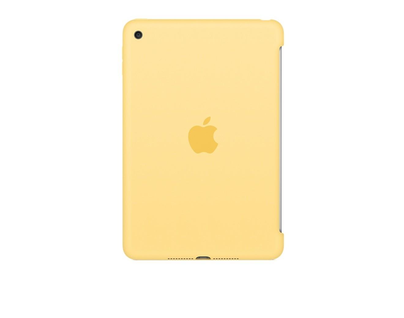 Калъф Apple Silicone Case за iPad Mini 4 - Yellow