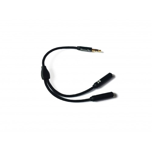 Сплитер за слушалки XtremeMac Splitter - Black