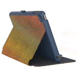 Калъф Speck StyleFolio Luxe iPad mini 5 и iPad mini 4 - Textured Metallic Oil Slick Gold