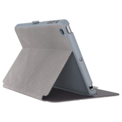 Калъф Speck StyleFolio Luxe iPad Mini 5 и iPad MIni 4 - Textured Metallic Perf Titanium