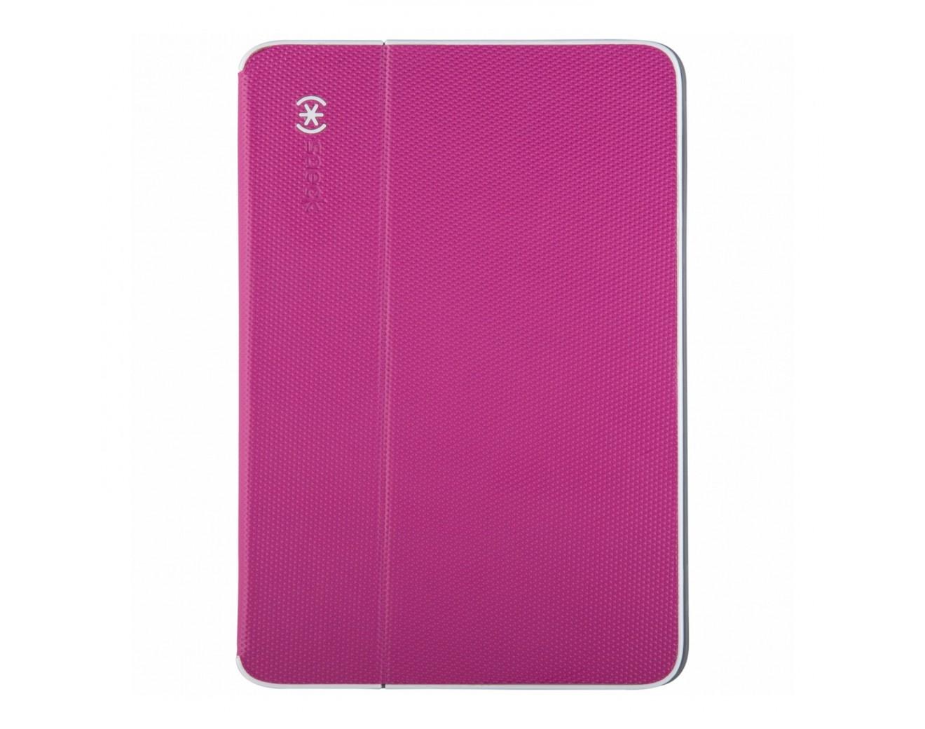 Калъф SPECK DuraFolio iPad Air - Fuchsia Pink/White