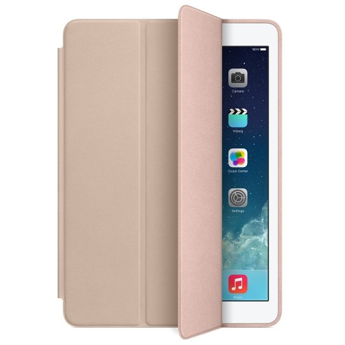 Кожен калъф Apple iPad Air Smart Case - Beige