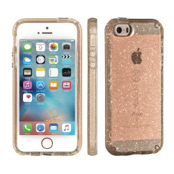 Калъф Speck CandyShell за iPhone 5/5S/SE - Clear/Gold Glitter