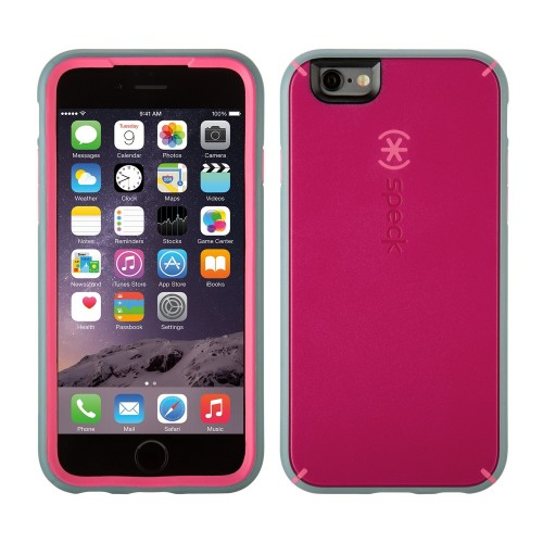 Калъф Speck MightyShell iPhone 6/6S - Fuchsia Pink/Cupcake Pink/ Grey
