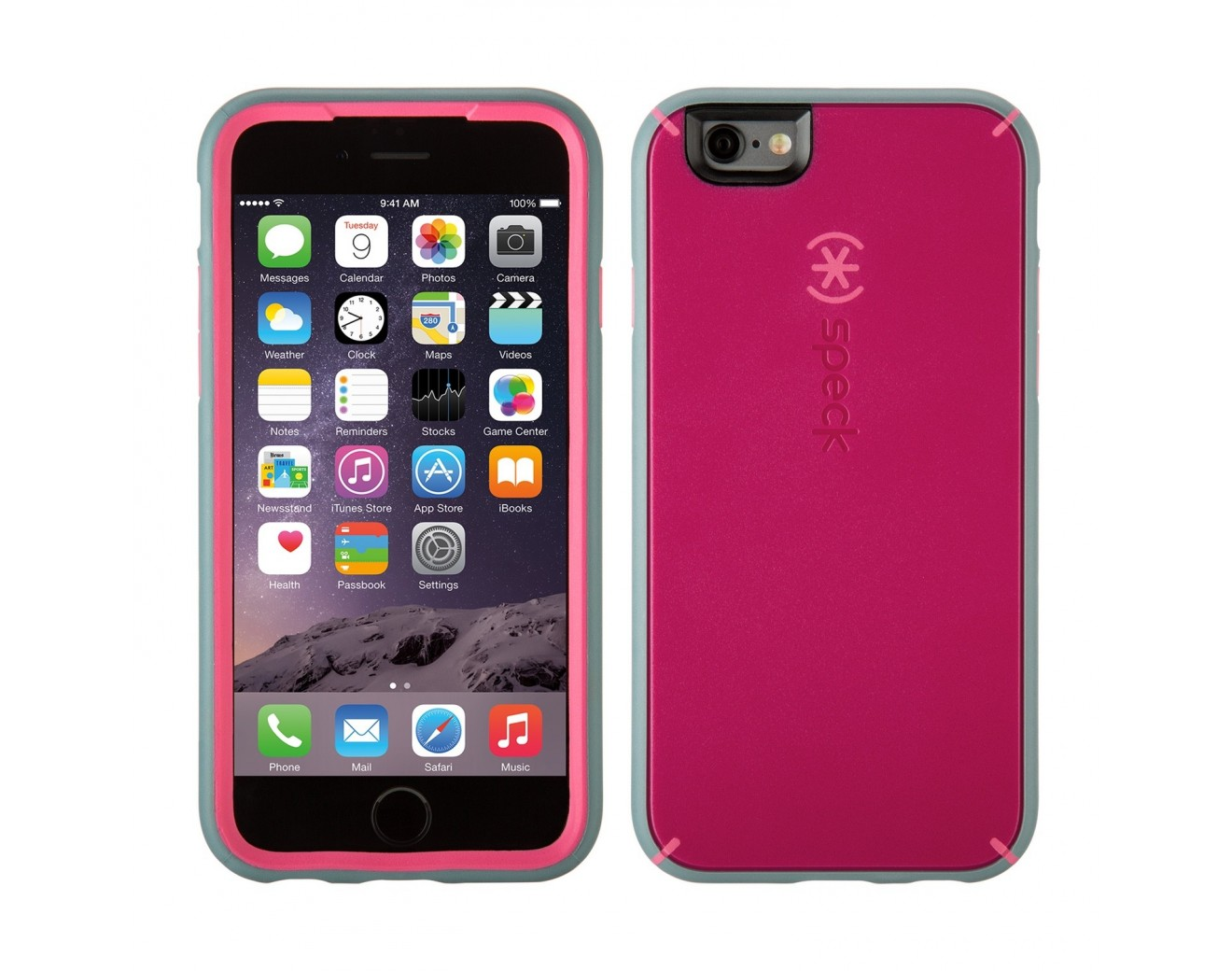 Калъф Speck MightyShell iPhone 6/6S - Fuchsia Pink/Cupcake
