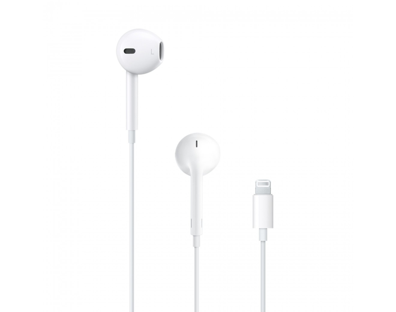 Слушалки Apple EarPods with Lightning Connector