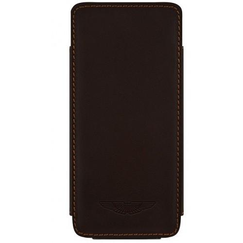 Кожен калъф BEYZA Аston Martin Slim TP Series Leather Case iPhone SE (5S)- brown