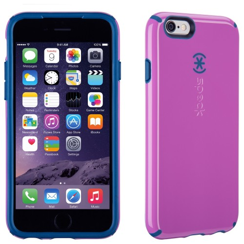 Калъф Speck CandyShell за iPhone 6/6S - Beaming Orchid Purple/ Deep Sea Blue