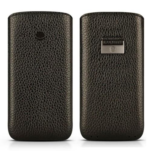 Кожен калъф BEYZA Retro Strap iPhone SE 2020 г. iPhone 8,iPhone 7, iPhone 6S - Black