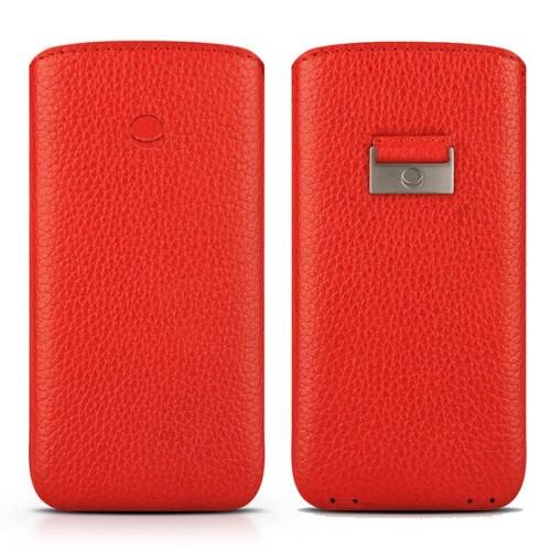 Кожен калъф BEYZA Retro Strap iPhone SE 2020 г. iPhone 8, iPhone 7, iPhone 6S - Red