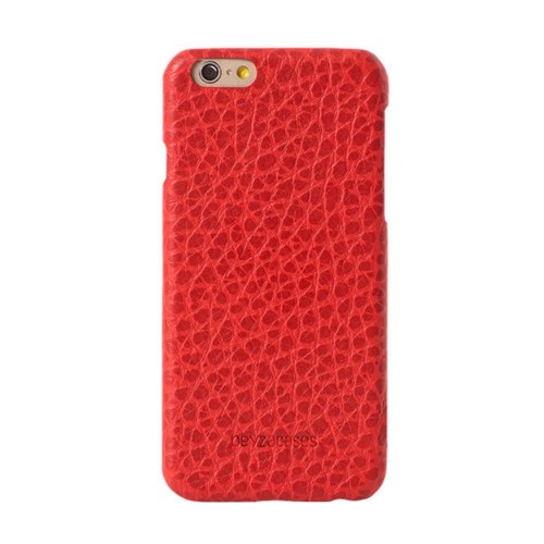 Кожен калъф BEYZA Shaggy iPhone SE 2020 г. iPhone 8 и iPhone 7 - Red