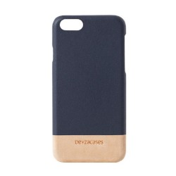 Кожен калъф BEYZA Venice iPhone 8 и iPhone 7 - Navy Cream