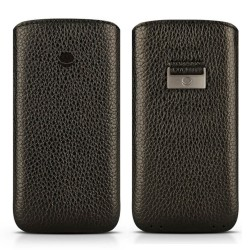 Кожен калъф BEYZA Retro Strap iPhone 7 Plus - Black