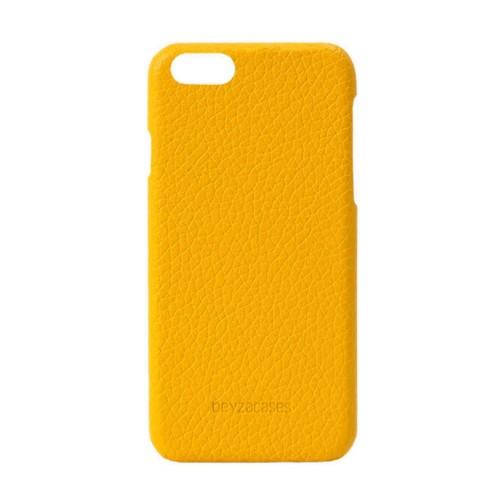 Кожен калъф BEYZA Feder iPhone SE 2020 г. iPhone 8 и iPhone 7 - Yellow