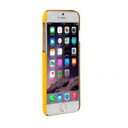 Кожен калъф BEYZA Feder iPhone 8 и iPhone 7 - Yellow