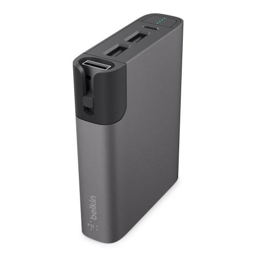 Външна батерия Belkin Mixit Power Rockstar 6600 - Space Gray