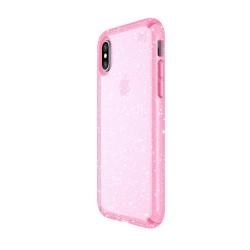 Калъф Speck Presidio Glitter iPhone X - Bella Pink With Gold