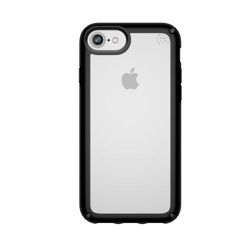 Калъф Speck Presidio Show iPhone 8 (compatible SE 2020 г. 6,6S,7) - Clear/Black