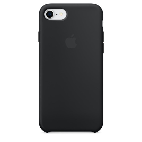 Калъф Apple iPhone 8 / iPhone 7/ iPhone SE 2020 г. Silicone Case - Black