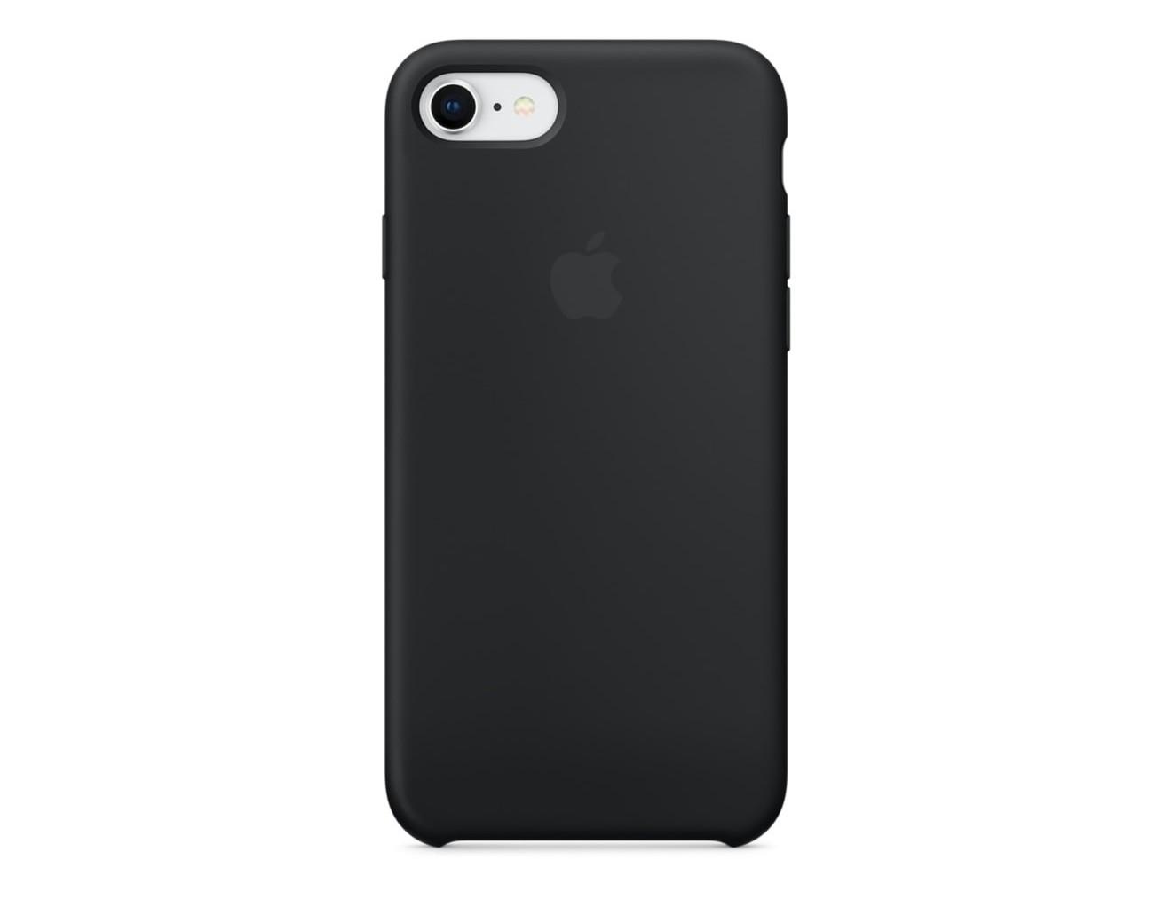 Калъф Apple iPhone 8 / iPhone 7 Silicone Case - Black