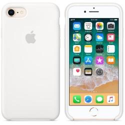 Калъф Apple iPhone 8 / iPhone 7 Silicone Case - White