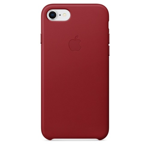 Калъф Apple iPhone 8 / iPhone 7 / iPhone SE 2020 г. Leather Case - (PRODUCT) RED