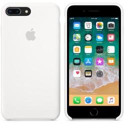 Калъф Apple iPhone 8 Plus / iPhone 7 Plus Silicone Case - White