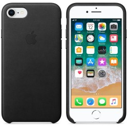 Калъф Apple iPhone 8 / iPhone 7 Leather Case - Black