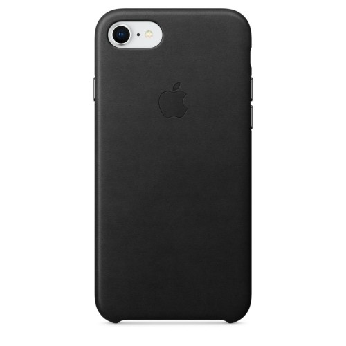Калъф Apple iPhone 8 / iPhone 7 / iPhone SE 2020 г. Leather Case - Black