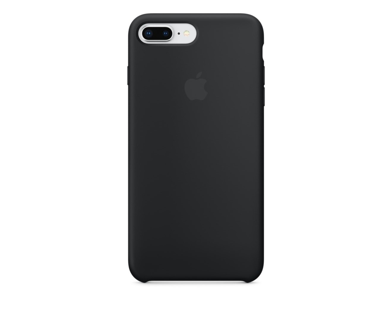 Калъф Apple iPhone 8 Plus / iPhone 7 Plus Silicone Case - Black