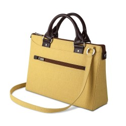 Чанта Moshi Urbana Mini Slim Handbag за MacBook -Tuscan Yellow