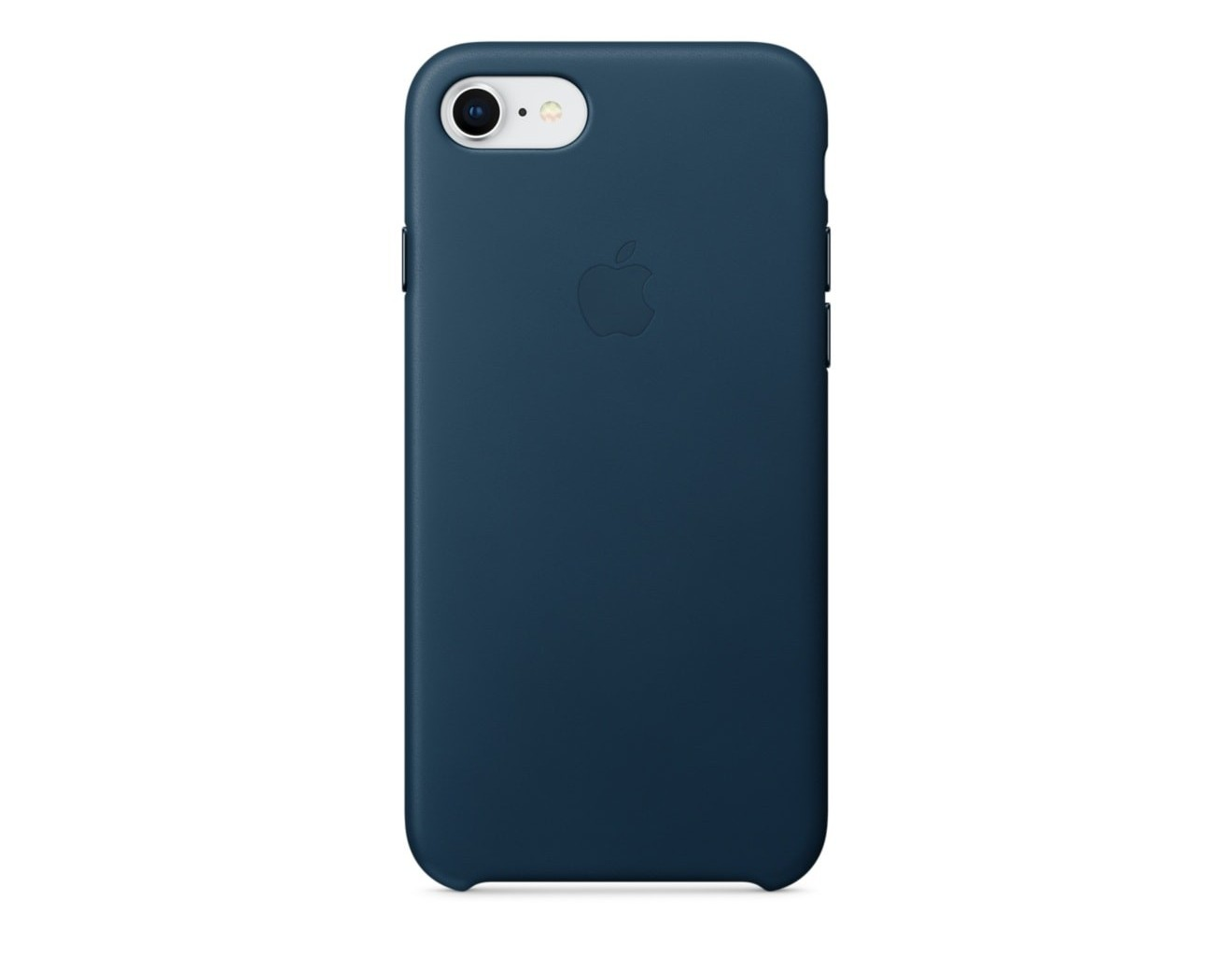 Калъф Apple iPhone 8 / iPhone 7 Leather Case - Cosmos Blue