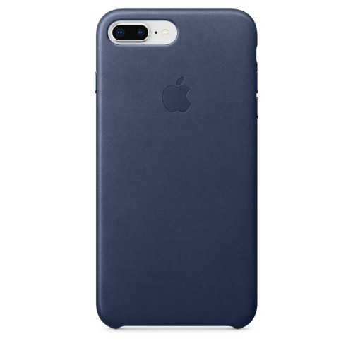 Калъф Apple iPhone 8 Plus / iPhone 7 Plus Leather Case - Midnight Blue