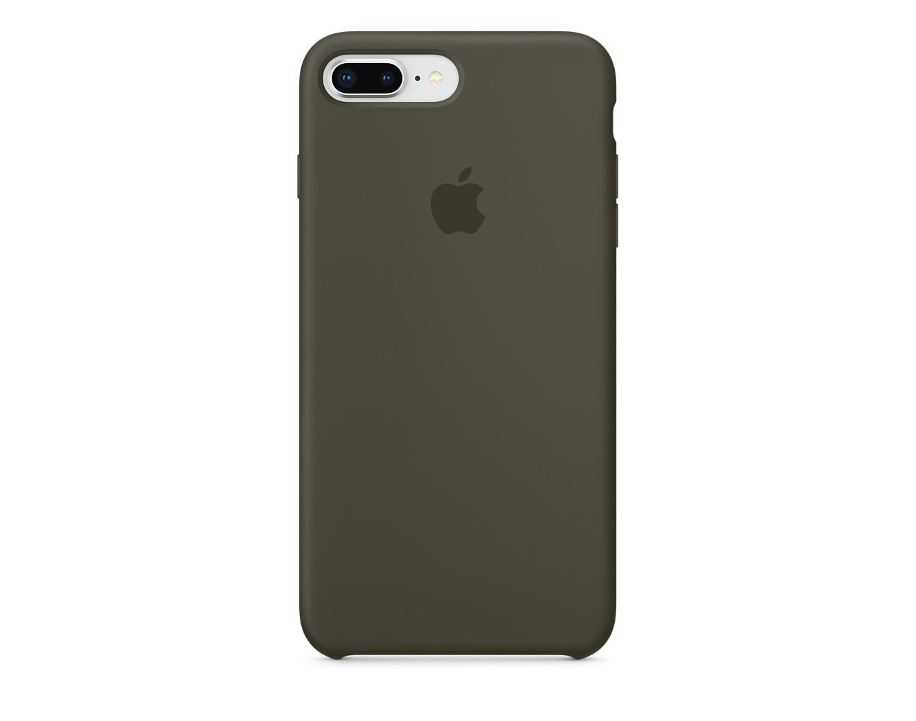 Калъф Apple iPhone 8 Plus / iPhone 7 Plus Silicone Case - Dark