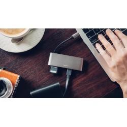 Адаптор Moshi USB-C Multimedia Adapter - Titanium Gray