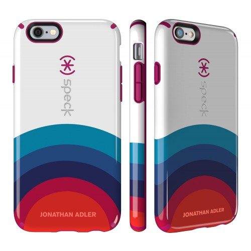 Калъф Speck CandyShell Johnatan Adler за iPhone 6/6S - Sunrise/ Lipstick Glossy