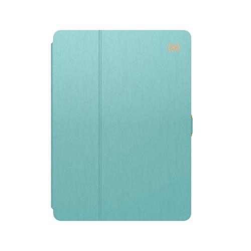 Калъф SPECK Balance Folio iPad Air 3 и iPad Pro 10.5 - Surf Teal/Mykonos Blue/Cantaloupe Orange