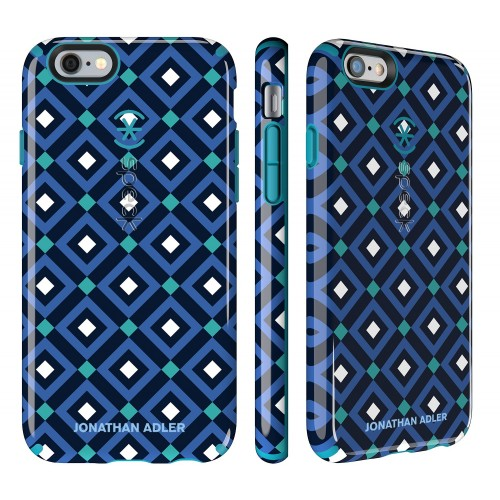 Калъф Speck CandyShell Johnatan Adler за iPhone 6/6S - Blue Gio/ Peacock Glossy