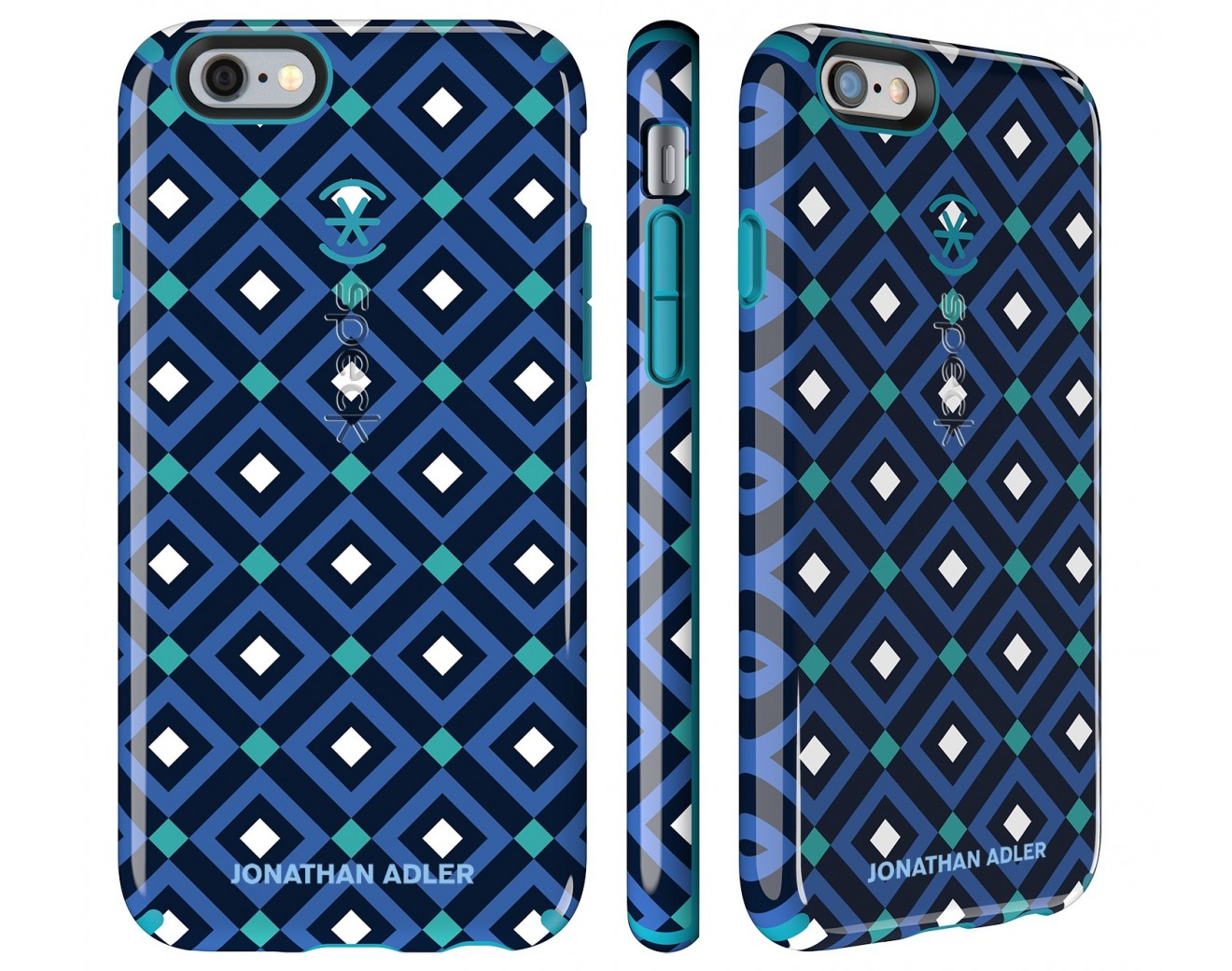 Калъф Speck CandyShell Johnatan Adler за iPhone 6/6S - Blue