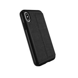 Калъф Speck Presidio Folio iPhone X Case - Black-Slate Grey