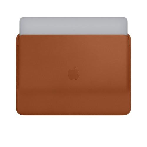 Кожен калъф Apple Leather Sleeve for 13-inch MacBook Pro - Saddle Brown