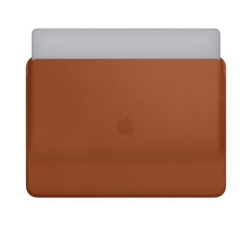 Кожен калъф Apple Leather Sleeve for 15-inch MacBook Pro - Saddle Brown