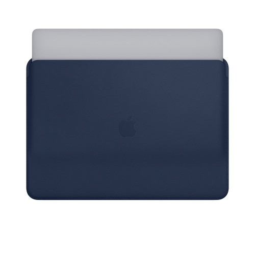 Кожен калъф Apple Leather Sleeve for 15-inch MacBook Pro - Midnight Blue