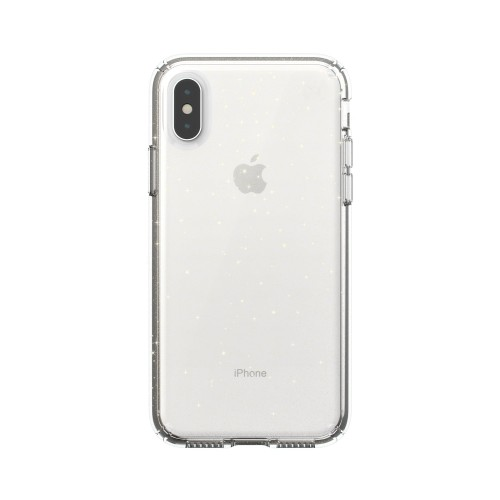 Калъф Speck iPhone XS / S PRESIDIO CLEAR + GLITTER - GOLD GLITTER/CLEAR
