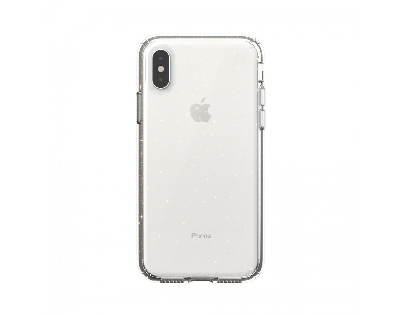 Калъф Speck iPhione XS PRESIDIO CLEAR + GLITTER - CLEAR WITH