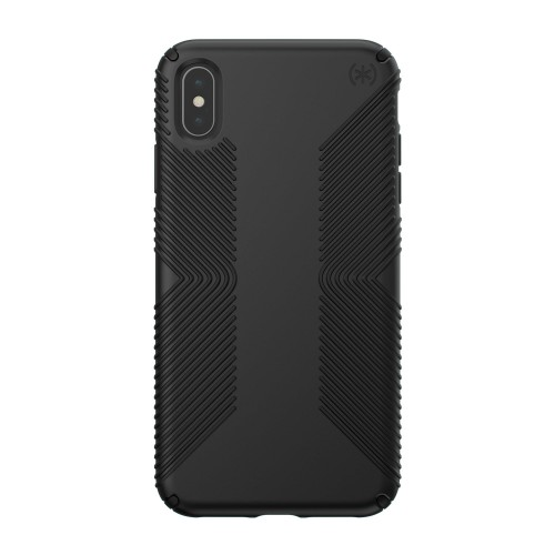 Калъф Speck iPhone XS Max PRESIDIO GRIP - BLACK/BLACK