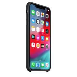 Apple iPhone XS Max Silicone Case - Black