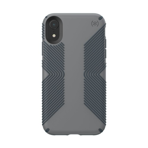 Калъф Speck iPhone XR PRESIDIO Grip - Graphite Grey/Charcoal Grey