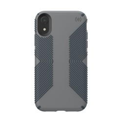 Калъф Speck iPhone XR PRESIDIO Grip - Graphite Grey/Charcoal